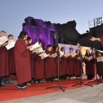 Presente anche il coro d'Ateneo! Foto di Rosa Maria Luca